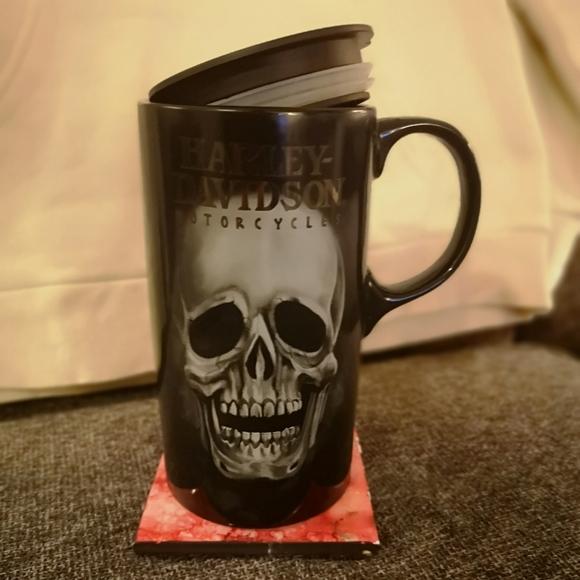 Harley Davidson CeramicTravel Mug